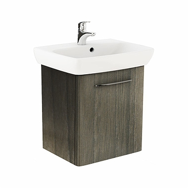 NOVA PRO 60 cm fürdőszobai szett: szögletes mosdó 60 cm + ...